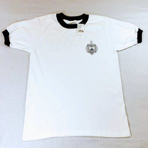 NWT Authentic US Naval Academy Issue Blue Rim Tee
